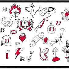simple halloween tattoo flash friday the 13th flash tattoos google search friday the 13th