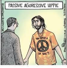 Passive Aggressive Meme - passive aggressive hippie you want a of me passive aggressive