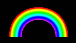 rainbow free black screen footage youtube