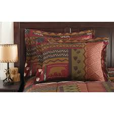 Comforters From Walmart Mainstays Cabin Bed In A Bag Coordinated Bedding Set Walmart Com