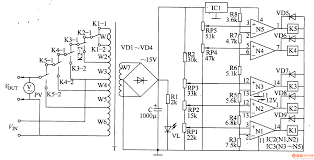 ac automatic voltage regulator circuit diagram zen working of