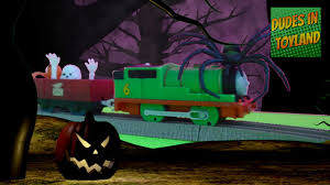 happy halloween adventure with thomas and friends toys percy