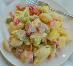 Pasta Salad Mayo by Easy Sweet Hawaiian Pasta Salad Small Town Woman