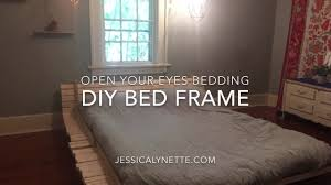 Minimalist Bed Frame Diy Minimalist Bed Frame Youtube