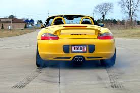 porsche boxster s exhaust porsche 986 boxster s launch with stebro race exhaust fabspeed