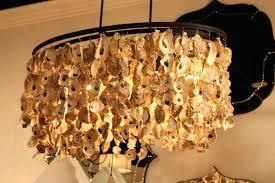 Seashell Light Fixtures Seashell Chandeliers Gallery Chandeliers Driftwood Hanging Light