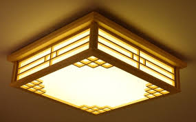 Japanese Ceiling Light Dimmable Japanese Ceiling Lights Indoor Lighting Led Square Modern