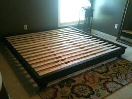 King Size Platform Bed With Storage Plans - i build king size bed frame wood diy king size bed frame with