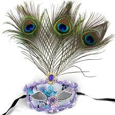 peacock masquerade masks aliexpress buy beautiful peacock feather masquerade mask