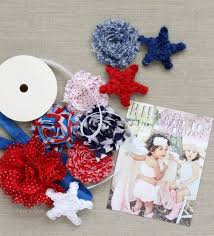 fourth of july hair bows diy 4th of july place cards the hair bow company