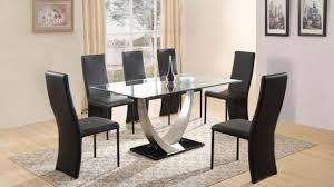 glass dining room table set glass dining room table sets fresh and 6 chairs sale 68 with