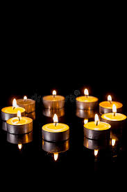 small candles in a circle royalty free stock photos image 33047238