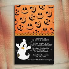 halloween baby shower invitation wording template halloween ba