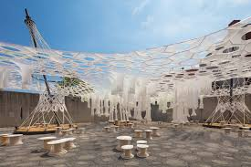 Solar Canopy by Watch Moma Ps1 U0027s Solar Canopy Art Installation Get Installed 6sqft