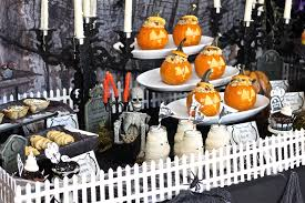 halloween dining table decorations best imaginative decorations de table pour hallowee 722
