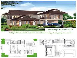 House Designs Floor Plans by House Designs And Floor Plans Tropical House Design Philippines