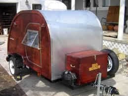 Retro Teardrop Camper Used Big Woody Campers