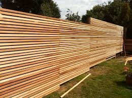 Garden Fence Ideas Design Awesome Wood Material Creating Unique Fence Ideas Designed With