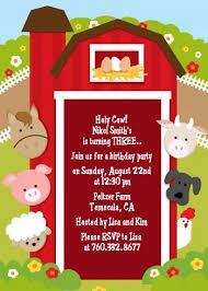 farm birthday invitations marialonghi