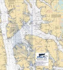 Map Alaska Alaska Sea Adventures Se Alaska Maps Alaska Sea Adventures