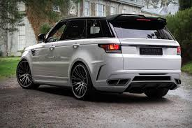 navy range rover sport startech releases first image of new rangerover sport body kit