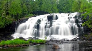 Michigan waterfalls images Porcupine mountains ontonagon mi jpg