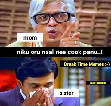 Cooking Memes - funny sister cooking tamil memes collection
