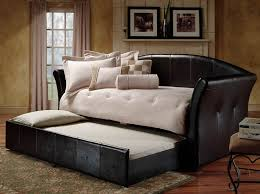 Leather Daybed With Trundle Bedroom Day Bed With Trundle Daybed With Trundle Bed U201a Day Bed