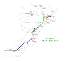 Atlanta Metro Rail Map by Regional High Speed Rail In The Us 6 Fantasy Maps Imaginarymaps