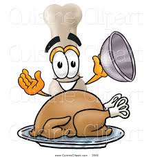 cartoon images of thanksgiving turkey cuisine clipart of a hungry and smiling bone mascot cartoon