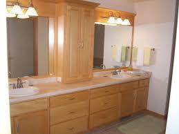 bathroom mirrored bathroom vanity cabinet tv feature wall design