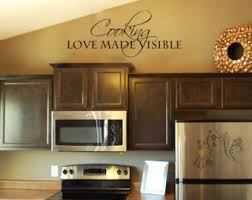 Vinyl Stickers For Kitchen Cabinets Kitchen Wall Decal Etsy