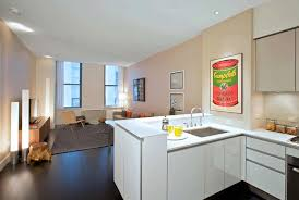 luxury rental apartment open kitchen interior design 25 broad