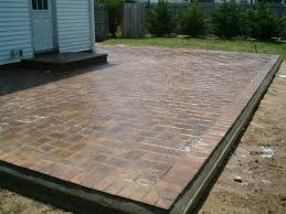 Small Paver Patio by Plastic Pavers For Patio Home Design Ideas And Pictures