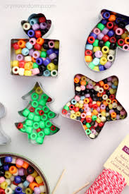 How To Make Adorable Wood Slice Christmas Ornaments Handmade Beaded Christmas Ornaments