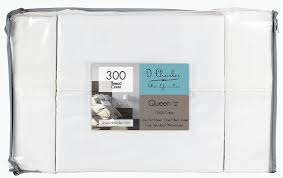 Highest Thread Count Sheet Amazon Com D Charles 300 Thread Count Percale Combed Cotton