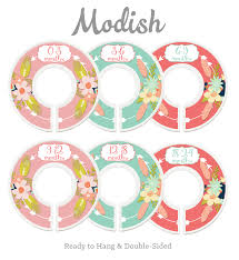 Baby Closet Dividers Printable Baby Closet Dividers Black And White Closet Dividers