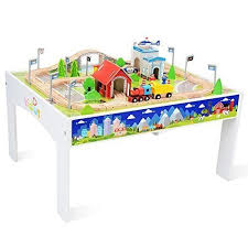 thomas the train wooden track table thomas train table set up review