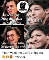 Meme Photos Tagalog - id tagalog memes lou huwa kang maaalala sa height mo dahil dito sa