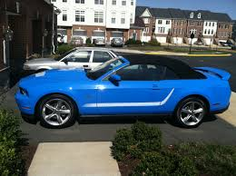 2010 mustang gt convertible 2010 grabber blue gt convertible the mustang source ford