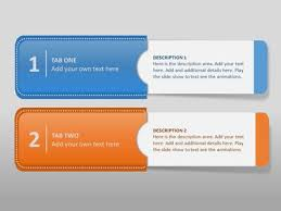info tabs a powerpoint template from presentermedia com