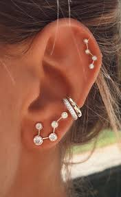 constellation earrings constellation earrings ear piercings constellation