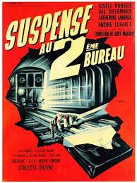deuxieme bureau suspense au deuxième bureau 1960 posters