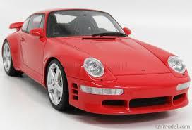 porsche ruf ctr2 gt spirit zm110 scale 1 18 porsche 911 993 ruf turbo coupe 1998 red