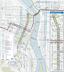 Portland Traffic Map by Transit Map Of Portland City Center Portland Pinterest