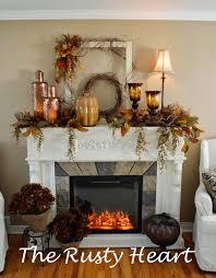 fall decorating ideas fireplace mantel 05 1 kindesign