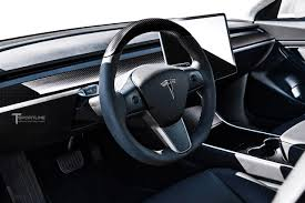 model 3 carbon fiber interior accessories u2013 tsportline com tesla