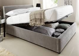 King Platform Bed With Storage Bed Frames King Size Bed With Storage Drawers Underneath King