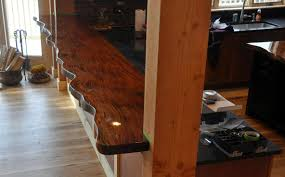 Slab Wood Bar Top Wood Slab Furniture Laura Williams