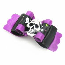 halloween neckties online get cheap bow skull for dog aliexpress com alibaba group